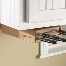 Under-Cabinet Swinging Knife Holder Block