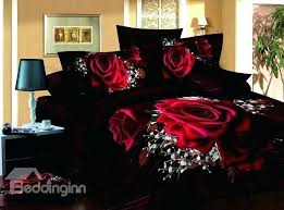 rose comforter set queen pink and gold