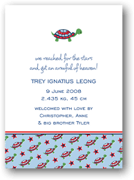 Noteworthy Designs Baby Bliss Birth Announcement Nwi2793f