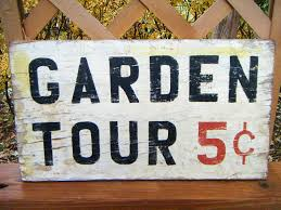 garden sign. Creative Garden Sign Ideas And Projects I