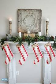 Festive Holiday Decorating Ideas For Your Fireplace Mantel  Home Christmas Fireplace Mantel