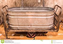 vintage galvanized bathtub for metal planter cowboy antique horse beautiful ideas