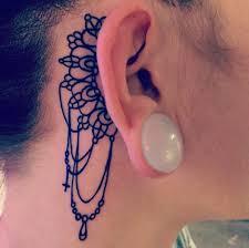 Ušní Tetování 15 Inspirací Dům Nápadů