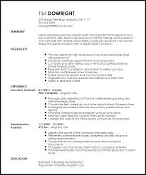 Executive Assistant Resume Template Simple Free Professional Executive Assistant Resume Template ResumeNow