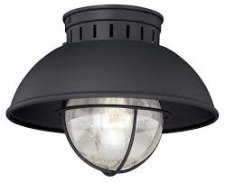 exterior ceiling light fixture. vaxcel lighting t0142 harwich outdoor ceiling light, textured black beach-style-outdoor- exterior light fixture