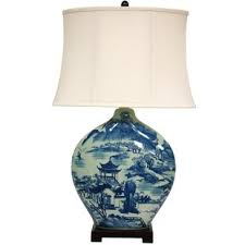 blue and white lamps. Christiane 32\ Blue And White Lamps M
