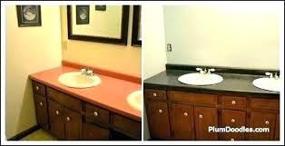 spray paint fresh divine imagine painted concrete with medium image painting bathroom countertops