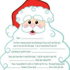 15 Free Printable Letters From Santa Templates Spaceships And