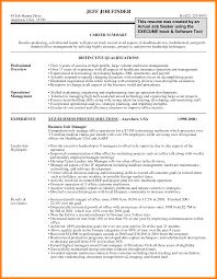 9 Career Summary Letter Adress