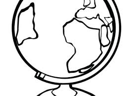 World Globe Coloring Page Coloring Page Of The World Coloring Pages