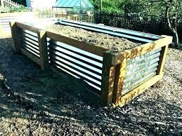 steel garden beds corrugated raised garden bed corrugated steel garden beds corrugated raised garden beds raised