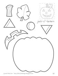 jack-o'-lantern color and cut | October | Pinterest | Therapy ...
