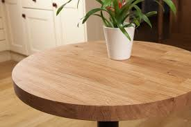 impressive solid oak restaurant tabletop round 40mm regarding wood round table top popular