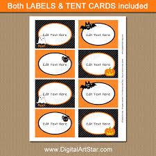 halloween candy buffet labels.  Halloween Candy Buffet Labels Halloween Party Ideas  Orange And Black Labels With Candy Buffet Labels C
