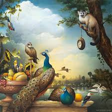 Surreal Paintings Forest Surreal Painting By Kevin Sloan 20 Full Image