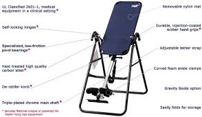 Teeter Comparison Chart Teeter Hang Ups Inversion Table Review Hubpages