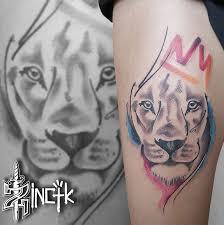Martin Tattooer Zincik Czech Tattoo Artist Tetování Na Stehno
