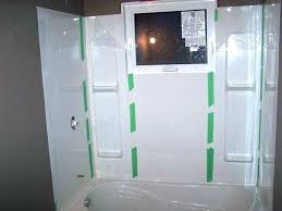 acrylic tub surround panels bathtub and walls project guide installing new shower wall panels ideas surrounds