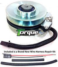 john deere lawn mower repair kits replaces warner 5219 42 john deere pto clutch w wire harness repair kit