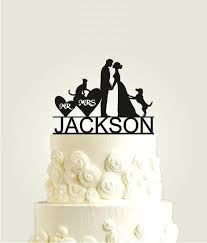 Dog Wedding Cake Toppers Topper And Cat With S Custom – babycakeste
