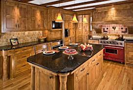Hickory Wood Cabinets Kitchens41
