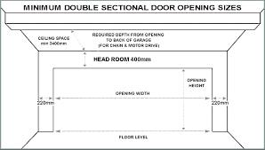 door opening size garage door opening size single garage doors sizes double garage door dimensions garage