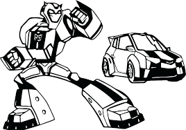 Bumblebee Coloring Pages Bumblebee Transformers Coloring Sheets Free
