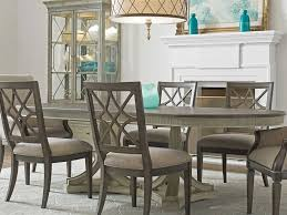 american drew savona friedrick 84 x 43 oval extension dining table