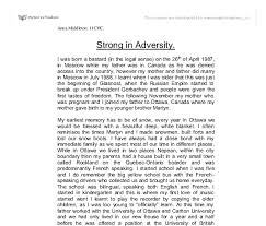 strong in adversity university linguistics classics and document image preview