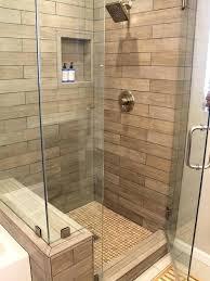 wood look tile bathroom walls wood plank tile shower installing wood look tile tub shower surround