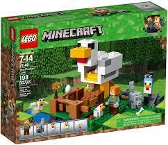 Đồ Chơi LEGO Minecraft 21140 - Nông Trại nuôi Gà của Alex (LEGO Minecraft  21140 The Chicken Coop)