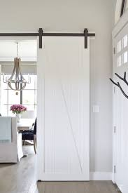 A Welcome Barn Door Addition to Our Home - ZDesign At Home