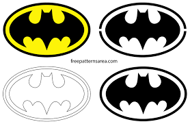 Batman Logo Symbol and Silhouette Stencil Vector | FreePatternsArea