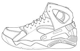 Popular Soccer Shoes Coloring Pages Featured Jordan Shoes Coloring