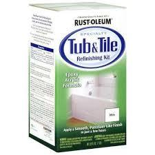white tub and tile refinishing kit 7860519 the home depot