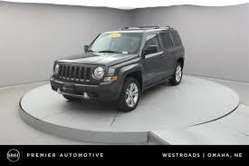 jeep patriot 2014 black. used 2014 jeep patriot limited 4d sport utility for sale in omaha ne black