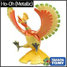 Mô hình Pokemon Ho-Oh Metallic của Takara TOMY Nhật Bản (Hiếm) - Hyper Size