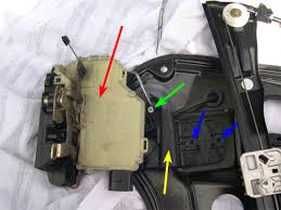 vwvortex com diy replacing the front door window regulator the picture below shows the location of the microswitch recognizes if the door is open or closed that commonly fails and makes the locking unlocking of