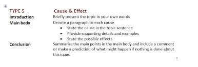 type cause effect essay paving the way for the ecpe writing picture