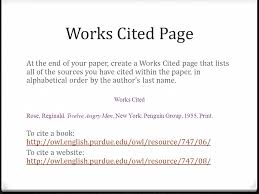 cited sources mla citing sources using the mla style guide ppt video online download
