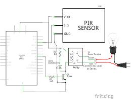 interfacing pir sensor with arduino the engineering projects is312 pir at Honeywell Pir Sensor Wiring Diagram