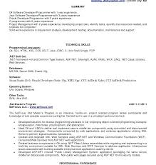 Sample Resume For Asp Net Developer Fresher Best Of Asp Net 24 Year Experience Resume Net Developer Resume Net Developer