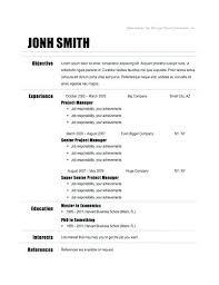 Google Resume Templates Resume Sample Web