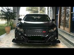 Custom honda civic alloy rims Honda Civic X Black Modified Youtube