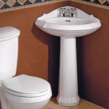 corner pedestal sink. Interesting Pedestal Shop Cheviot 930W Sheffield Corner Pedestal Sink White At The Mine Browse  Our Pedestal Sinks All With Free Shipping And Best Price Guaranteed With Sink C