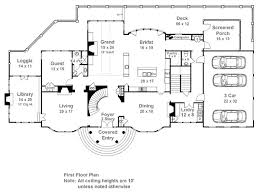 Carmichael Estate 7932  5 Bedrooms And 5 Baths  The House DesignersEstate Home Floor Plans