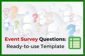 post event survey questions template event survey questions in a ready to use template