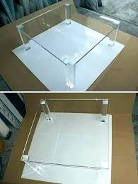 acrylic clear coffee table tables plastic canada full size