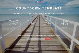 countdown templates landing page countdown template free bootstrap templates