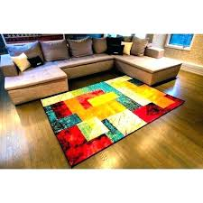 attractive colorful area rugs in bright colors modern colored rug living room unique at multi 8